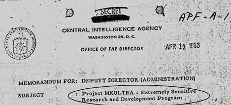 MKULTRA: CIA mutila e assassina milhares atrás do 'controle