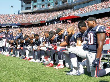 Jogadores desafiam Trump e protesto se espalha pelos jogos