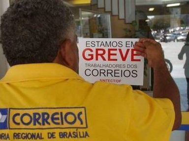 Correios iniciam greve nacional contra arrocho e sucateamento