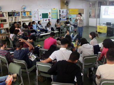 Curuguaty: solidariedade aos presos políticos une estudantes e professores da escola Caetano de Campos, em SP