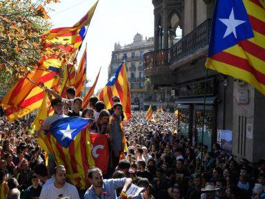 Desemprego gerado pelo arrocho pró-bancos  de Mariano Rajoy infla o separatismo catalão