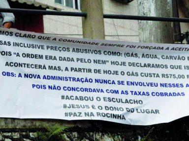 Encenação sobre segurança no Rio acaba e o tráfico retoma a Rocinha