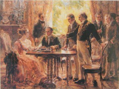 Os Andradas e outros heróis da Independência do Brasil – 13