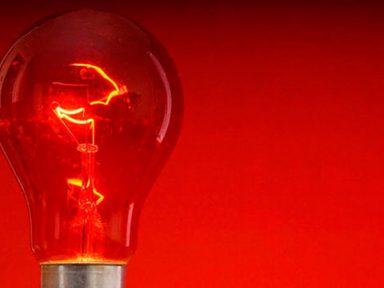 Conta de luz terá bandeira vermelha com a cobrança extra de R$ 3,50 em outubro