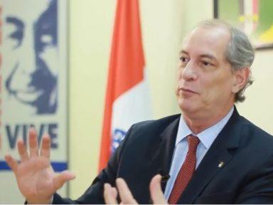 Ciro defende a estatização do Banco Central