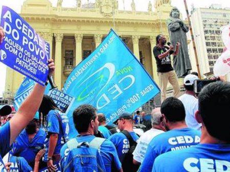 Justiça do Trabalho concede liminar a Sindicato e proíbe governo do Rio de privatizar Companhia de Água