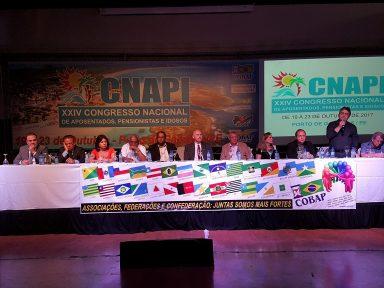Cobap aprova ato nacional para barrar 'reforma' da Previdência