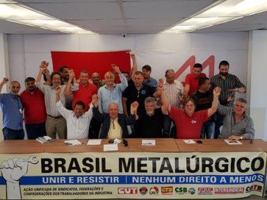 Movimento Brasil Metalúrgico se reúne para novo ato nacional