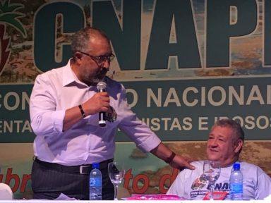 Aposentados defendem candidatura de Paulo Paim para a Presidência