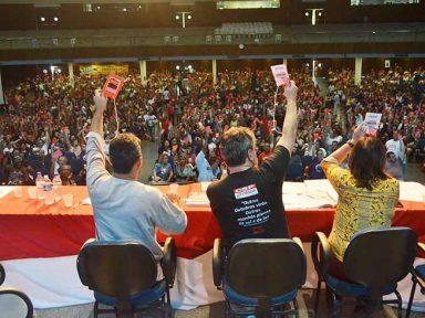 CSP-Conlutas realiza 3º Congresso e convoca trabalhadores à greve geral contra 'reformas'