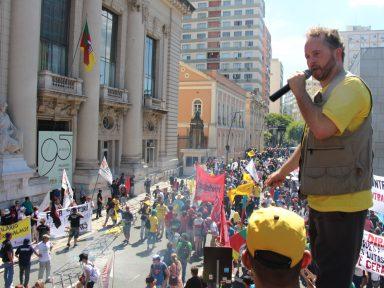 Sintergs: 'greve é pelo pagamento dos salários e contra essa política de desmonte do nosso Estado'