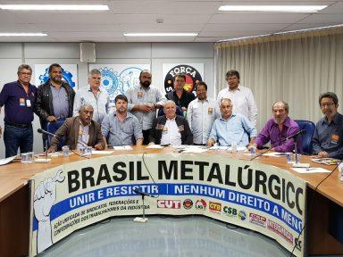 Metalúrgicos farão convocação em massa para mobilização do dia 10