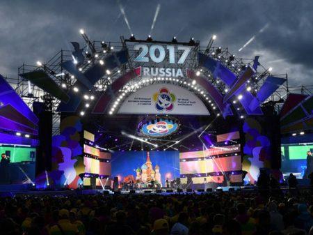 Rússia recebe 25.000 jovens de 150 países em Festival Mundial