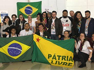 Delegação brasileira ao Festival leva solidariedade aos povos na luta contra agressão imperialista