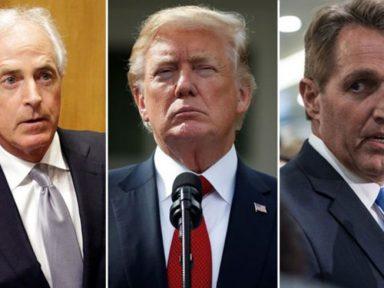 O senador republicano Flake chama Trump de 'perigo para a democracia'