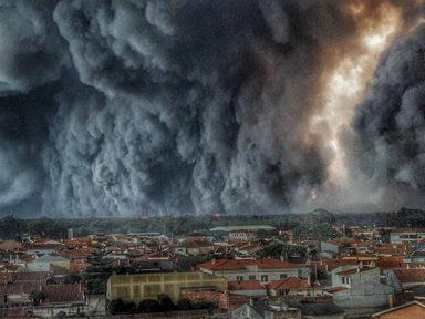 Incêndio florestal em Portugal mata 36 pessoas