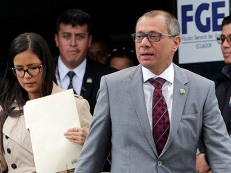 Caso Odebrecht: vice-presidente do Equador é preso por corrupção