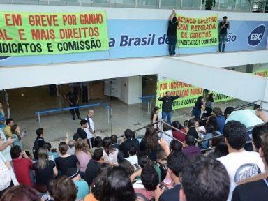 Funcionários da EBC entram em greve
