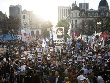 A Argentina quer saber: quem matou Maldonado?