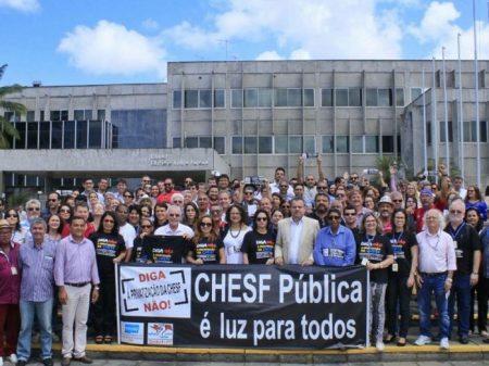 Chesf: Frente entra na PGR contra privatização