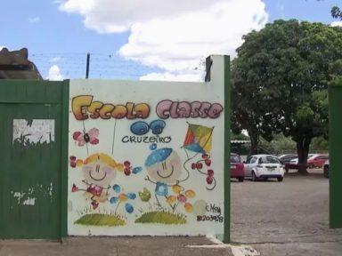 DF: Criança desmaia de fome em escola