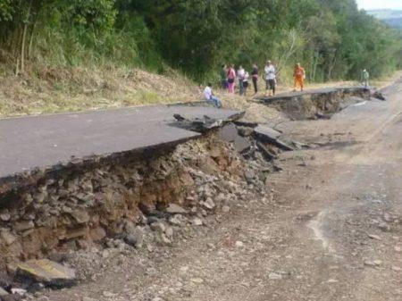 62% das estradas do país estão em mau estado