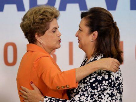 Para Dilma, expulsão de Kátia Abreu do PMDB é por ela ser progressista