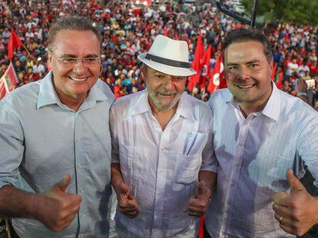 PT de Alagoas decide se abrigar de novo  no governo do filho de Renan Calheiros