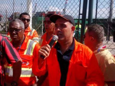 """Estivadores reelegem Nei: """"pela garantia de trabalho e direitos"""""""