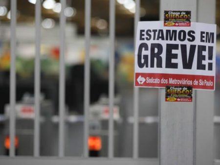 Metroviários de SP aderem à greve geral dia 5 de dezembro