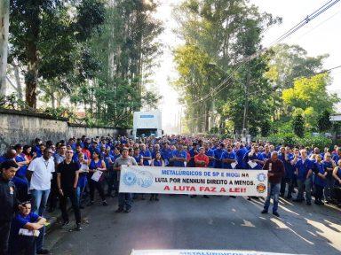 Em SP, 50 mil metalúrgicos realizam atos e greves pela revogação da nova lei trabalhista