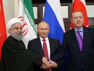 Rússia, Irã e Turquia articulam  encontro pela paz na Síria