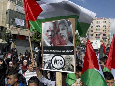"""Abbas: """"Inglaterra ofertou uma terra que  não era sua a quem não tinha o direito"""""""