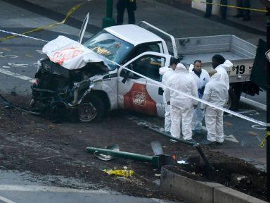 Terror no Halloween: desatinado atropela e mata 8 e deixa 11 feridos em Nova Iorque