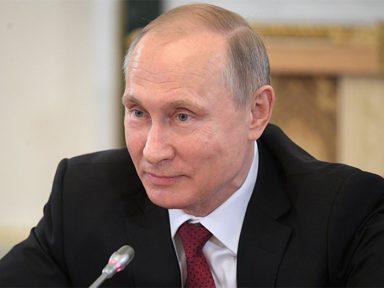 Putin saúda delegações a eventos pelo Centenário da Revolução