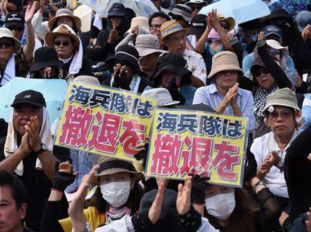 Okinawa: marine embriagado bate caminhão e mata idoso