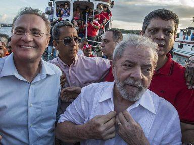 Por dupla Lula/Renan, PT apoia PMDB em Alagoas
