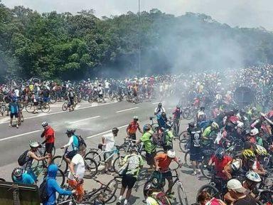 Governo de SP joga tropa de choque contra 4 mil ciclistas