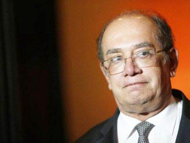 Com apoio do PT, rejeição a Gilmar Mendes caiu para 94%