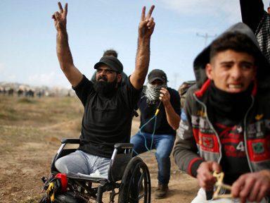 Israel mata com tiro na cabeça conhecido cadeirante palestino