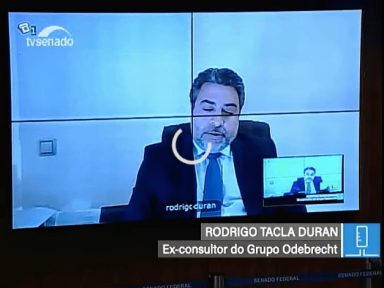 Doleiro foragido faz intriga contra Moro na CPI-JBS