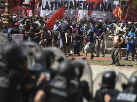 Argentina segue conflagrada contra  reforma de Macri