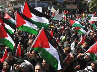 Greve geral contra apoio da Casa Branca ao apartheid de Israel