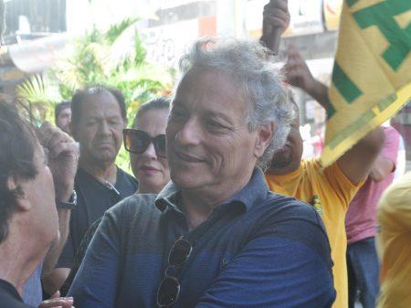 João Vicente Goulart, filho de Jango, e pré-candidato a presidente, visita Santa Maria
