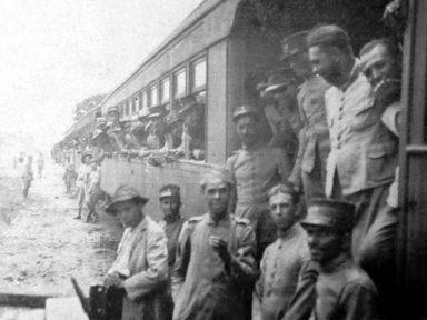 Revolução de 1924 – 2  NAS BARRANCAS DO RIO PARANÁ