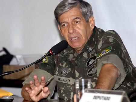 Para general Heleno, corrupção que começa no presidente é péssimo exemplo para polícia