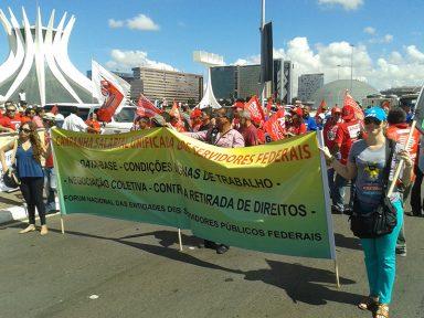 Servidores Públicos reforçam convocação de greve geral dia 19