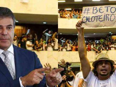 Professores universitários do Paraná denunciam calote nos salários