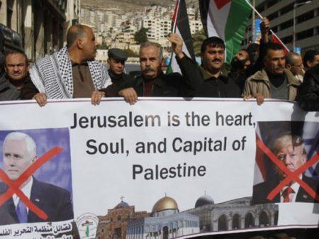 Liga árabe condena EUA por mudar embaixada para Jerusalém