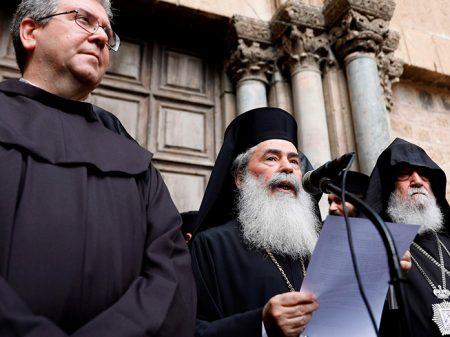Prelados fecham Santo Sepulcro contra impostos 'racistas' de Israel